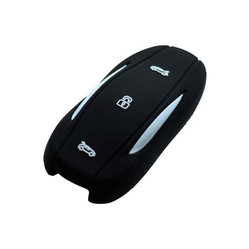 Black Silicone Key Fob Protector for Tesla