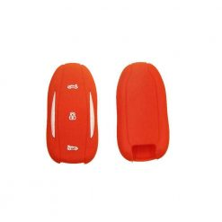Red Silicone Key Fob Protector for Tesla