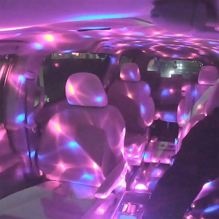 Tesla Caraoke USB Disco Ball Light