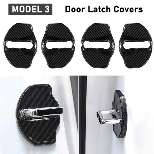 Tesla Model 3 Door Latch Covers