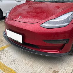 Carbon Fibre Front Spoiler for Tesla Model 3