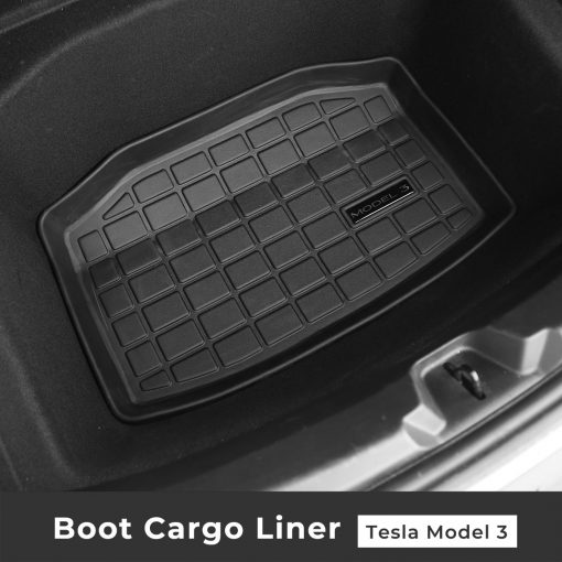 All Weather TPE Boot Cargo Mat for Tesla Model 3