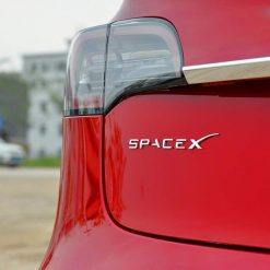 SPACE X Emblem for Tesla