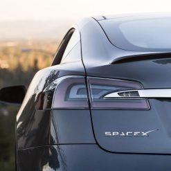 SPACE X Emblem for Tesla