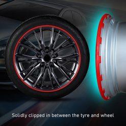 "Tesla 18"" Aero Wheel Rim Protector"