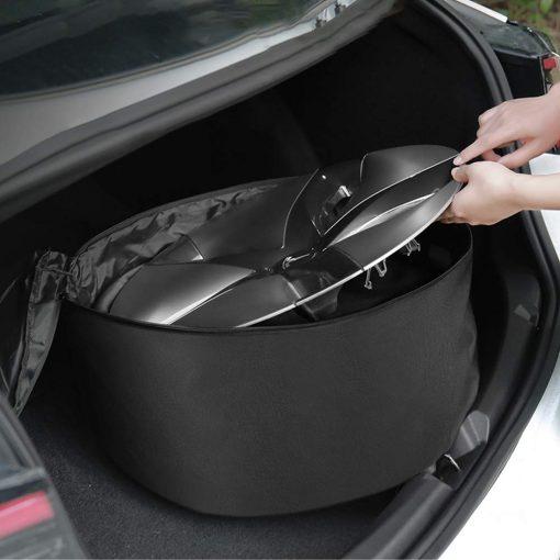 Tesla Aero Wheel Cover Storage Carrying Bag