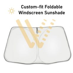 Tesla Model 3 Custom-fit Windscreen Sunshade