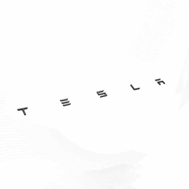 TESLA Letter Badging