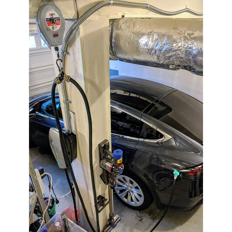Charge Cable Retractable Spring Balancer for Tesla