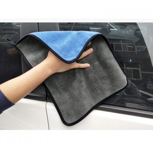 Microfibre Car Cleaning Towel - 2 Pack