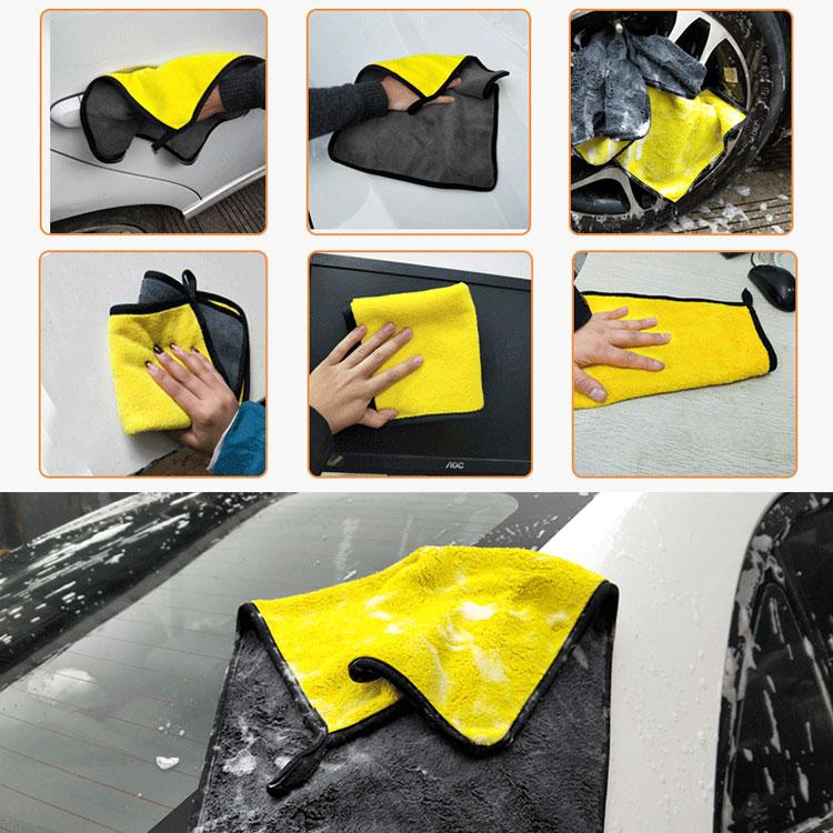 Microfibre Car Cleaning Towel - 2 Pack