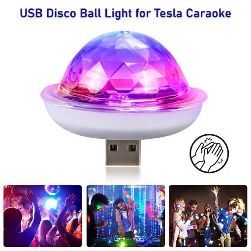 Tesla Caraoke USB Disco Ball Light