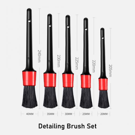 Detailing Brush Set 5 Piece