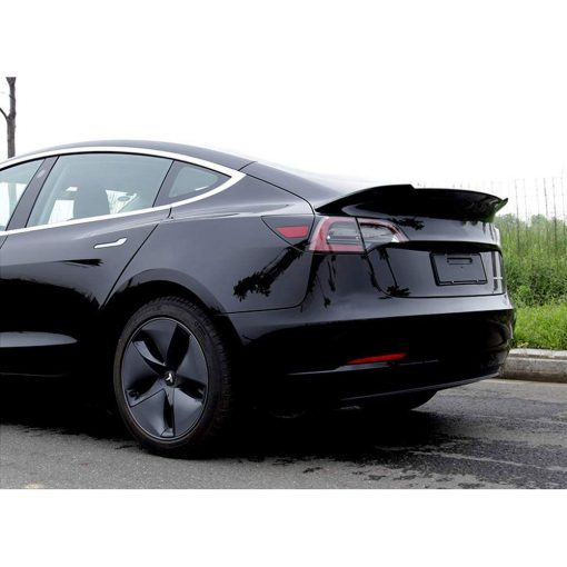 Tesla Model 3 Spoiler - ABS Carbon Fibre