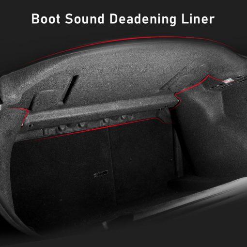Boot Sound Deadening Liner for Tesla Model 3