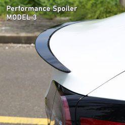 Tesla Model 3 Performance Spoiler - Carbon Fibre