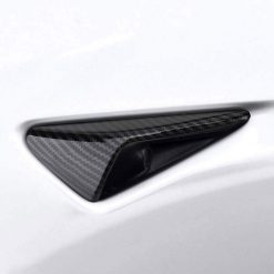 Tesla Side Indicator Camera Caps – Carbon Fibre