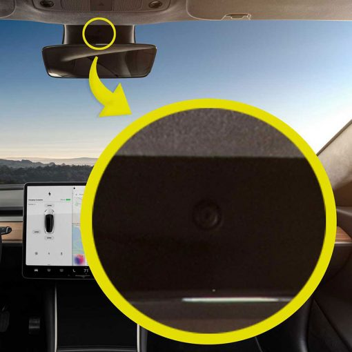 Tesla Interior Camera Privacy Cover
