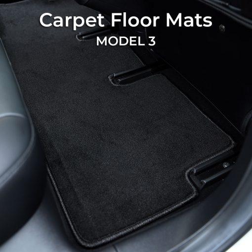Carpet Floor Mats for Tesla Model 3