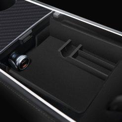 Armrest Storage Tray for Model Y / Model 3